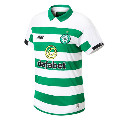 New Balance Celtic Home Shirt 2019 20 Womens White/Green