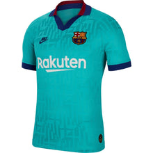 Nike Barcelona Third Vapor Shirt 2019 2020 Mens Blue