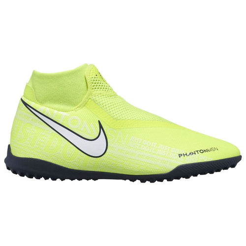 Nike Phantom Vision Academy DF Astro Turf Football Boots Mens Yellow/White
