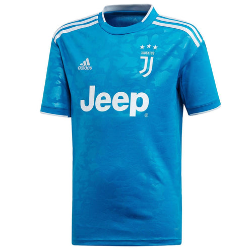 adidas Juventus Third Shirt 2019 2020 Juniors Blue