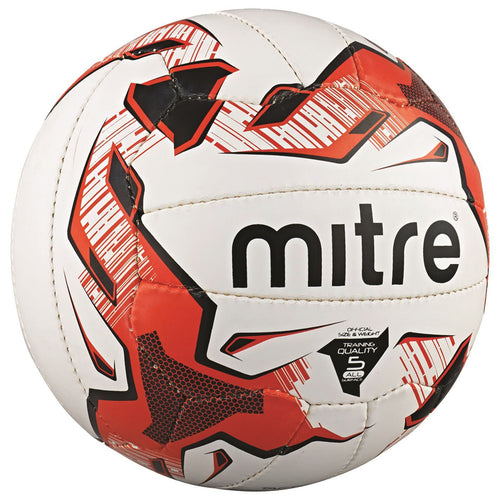 Mitre Tactic Football White/Red