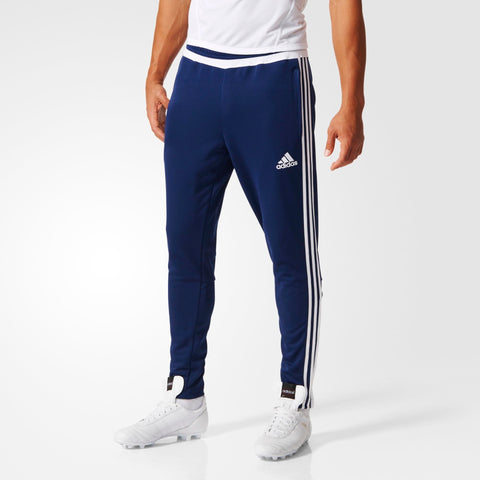 adidas Tiro 15 Football Training Pants Mens Blue/Wht
