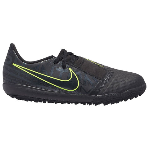 Nike Phantom Venom Academy Astro Turf Football Boots Junior Boys Black/Yellow