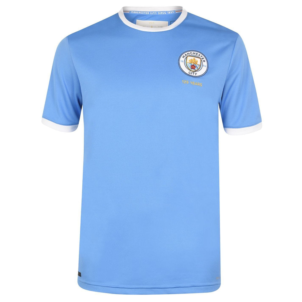 Puma Manchester City 125th Anniversary Shirt Mens Blue