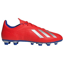 adidas X 18.4 Firm Ground FG Football Boots Mens Red