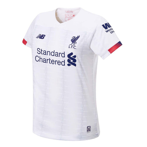 New Balance Liverpool Away Shirt 2019 20 Womens White