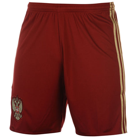 adidas Russia Shorts Red/Gold Mens