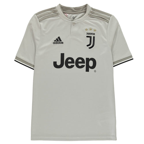 adidas Juventus Away Shirt Juniors White