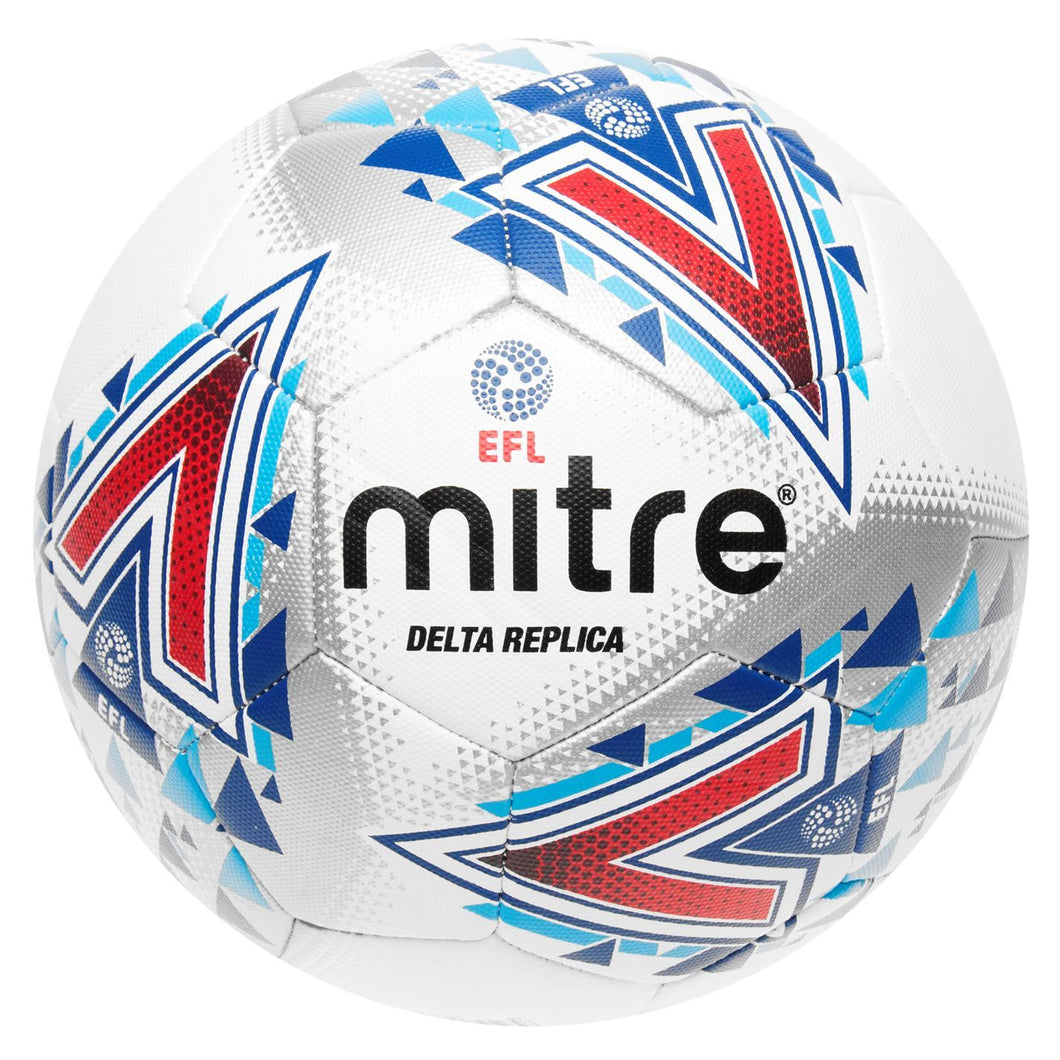 Mitre Delta Replica Football White