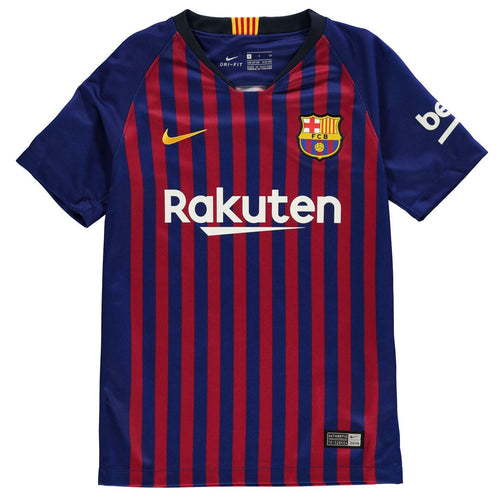 Nike Barcelona Home Jersey 2018 2019 Juniors Blue/Red