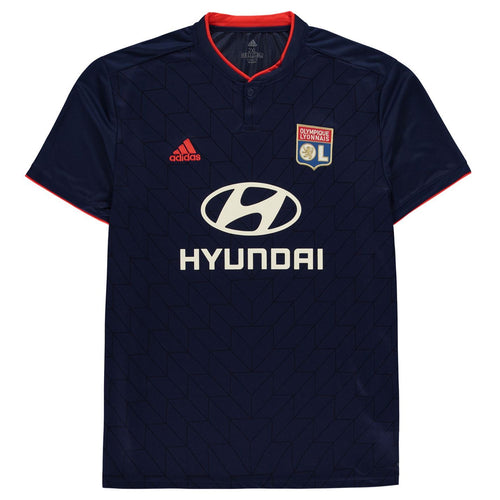 adidas Lyon Away Shirt Juniors Blue