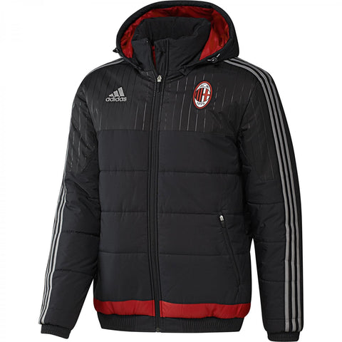 adidas AC Milan Padded Jacket Black Mens