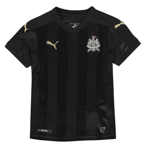 Puma Newcastle Third Jersey 2017 2018 Juniors Black