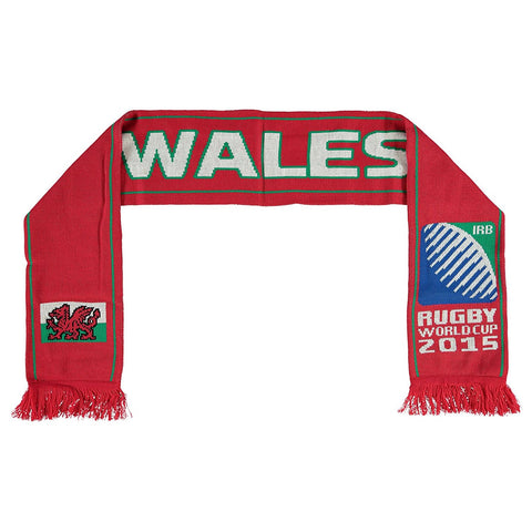 Wales Rugby World Cup 2015 Scarf Red