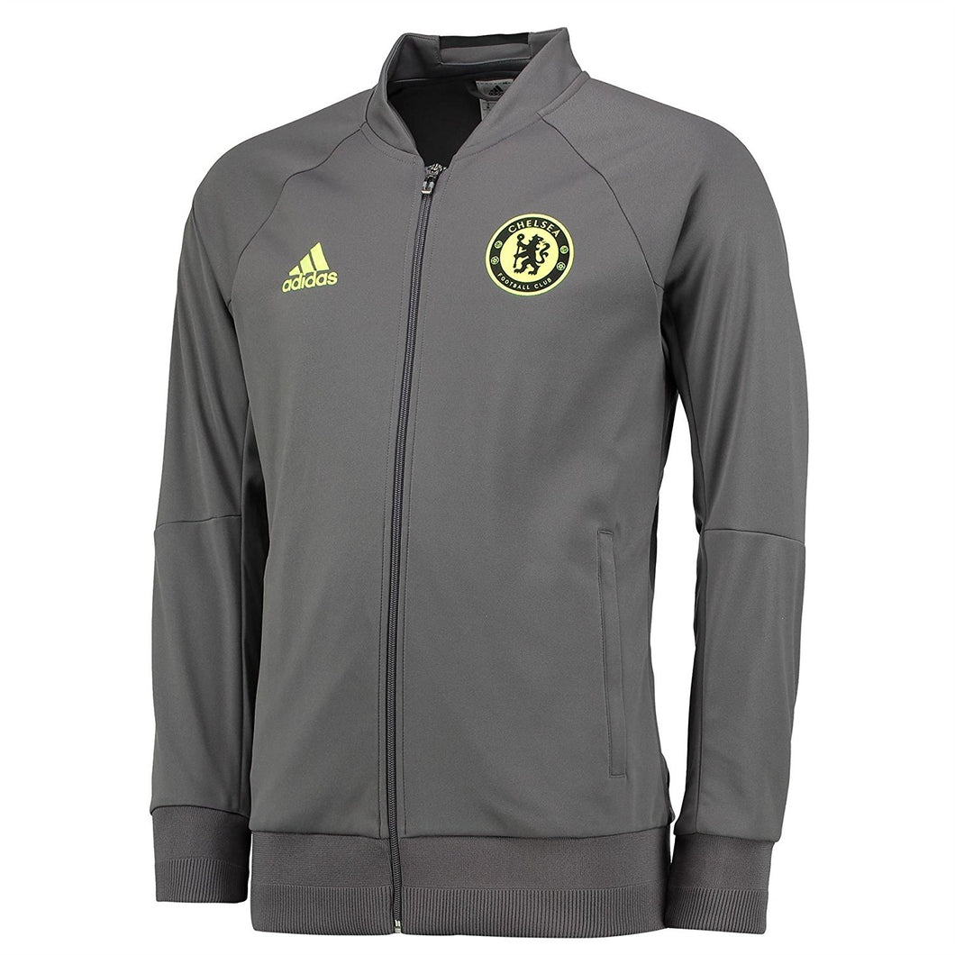 adidas Chelsea Anthem Jacket Mens Grey