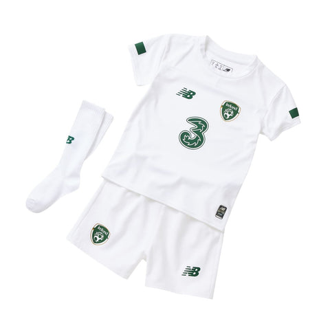 New Balance Ireland Away Baby Kit 2019 2020 Infants White/Green