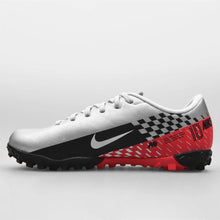 Nike Mercurial Academy Neymar Jr Astro Turf Football Boots Boys Silver/Black
