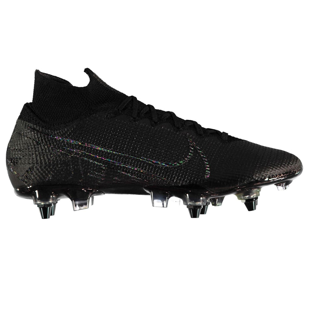 Nike Mercurial Superfly Elite DF SG Football Boots Mens Black/Grey