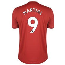 adidas Manchester United Martial Home Shirt 2019 20 Mens Red