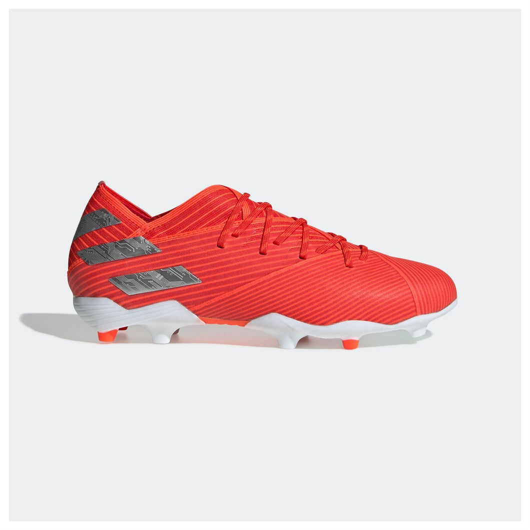 adidas Nemeziz 19.1 Firm Ground FG Football Boots Junior Red