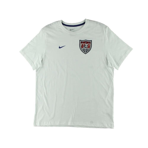 Nike US Soccer Core T-Shirt White Mens
