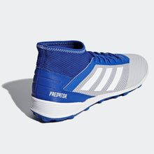 adidas Predator 19.3 Astro Turf Football Boots Mens White/Blue