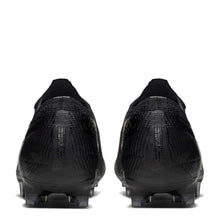 Nike Mercurial Vapor Elite FG Football Boots Mens Black/ Grey
