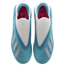 adidas X 19.3 Laceless FG Football Boots Mens Cyan/Black