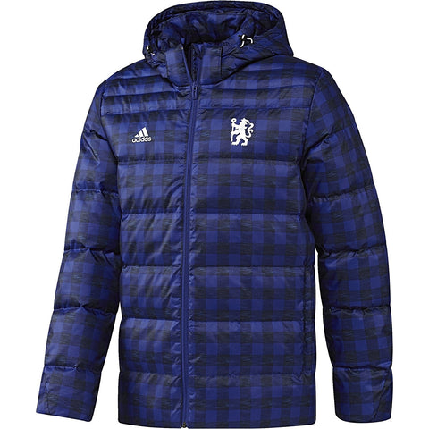 adidas Chelsea Down Jacket Mens Blue