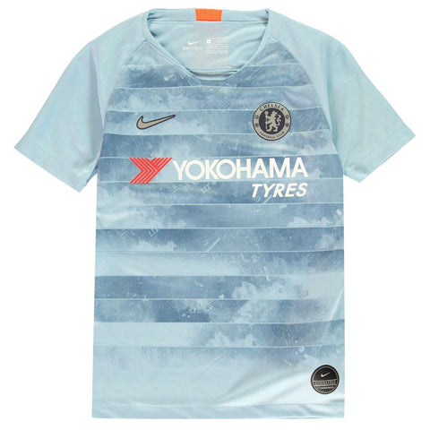 Nike Chelsea Third Jersey 2018 2019 Juniors Blue/Silver