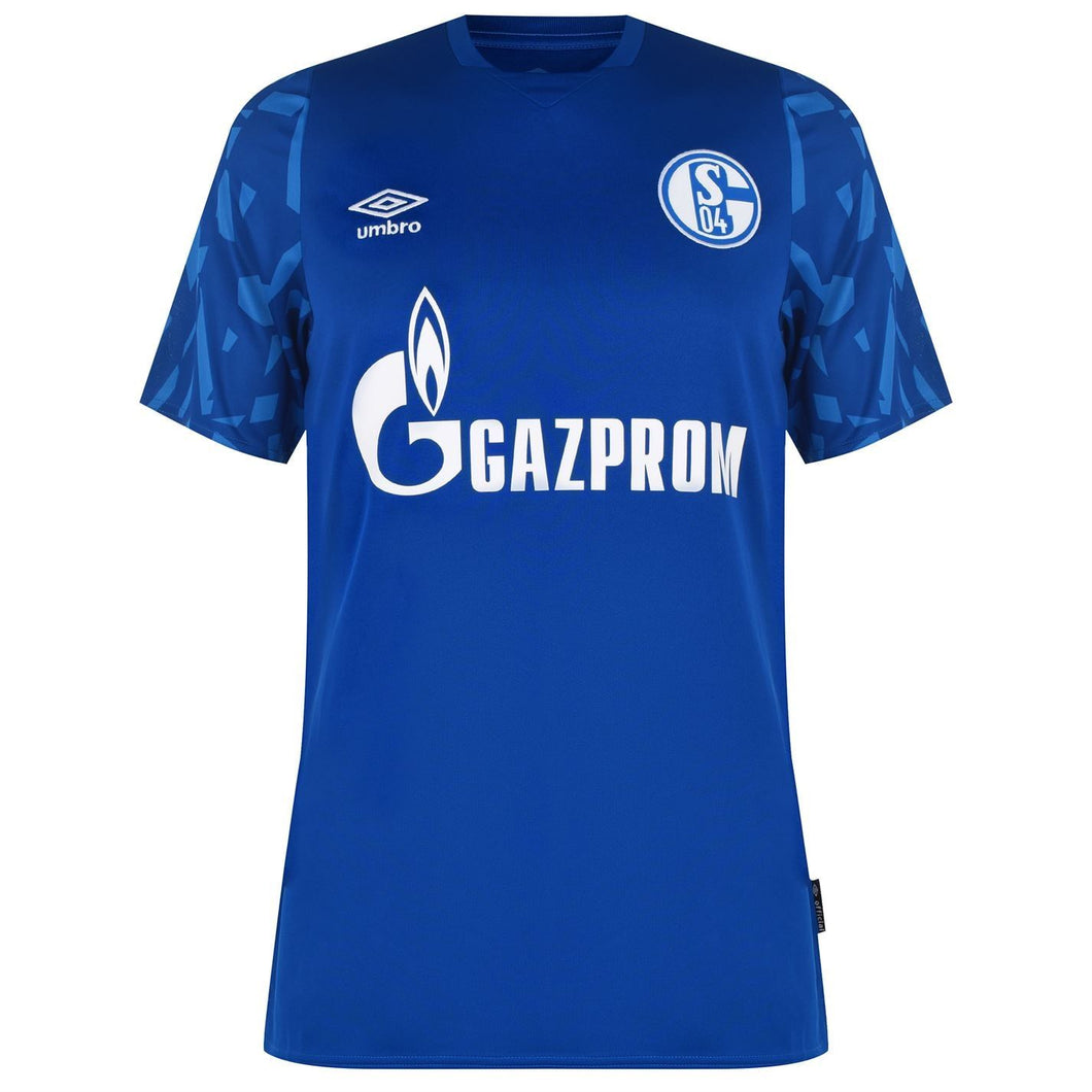 Umbro Schalke Home Shirt 2019 2020 Mens Blue