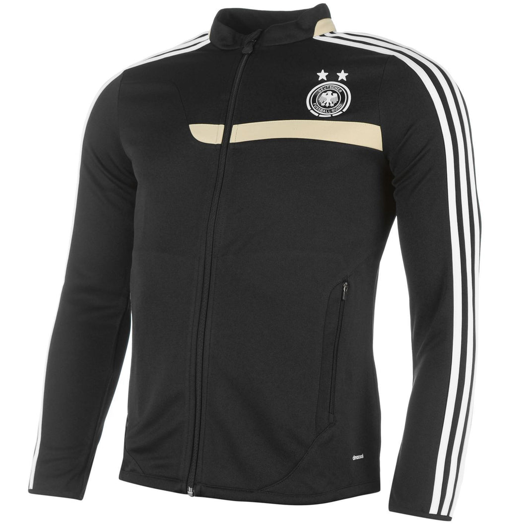 adidas Germany Deutscher Fussball-Bund Track Jacket Black Womens