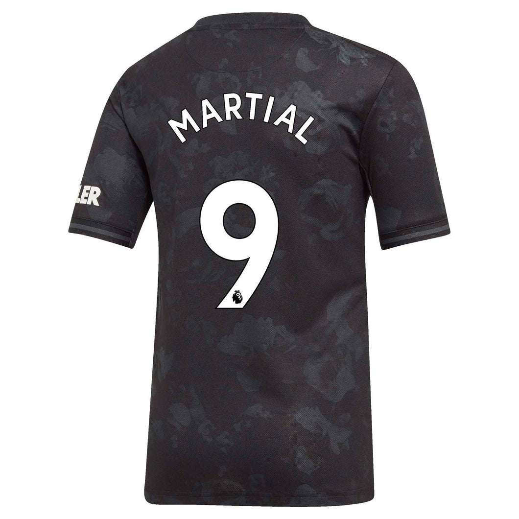 adidas Manchester United Martial 3rd Shirt 2019 20 Juniors Black