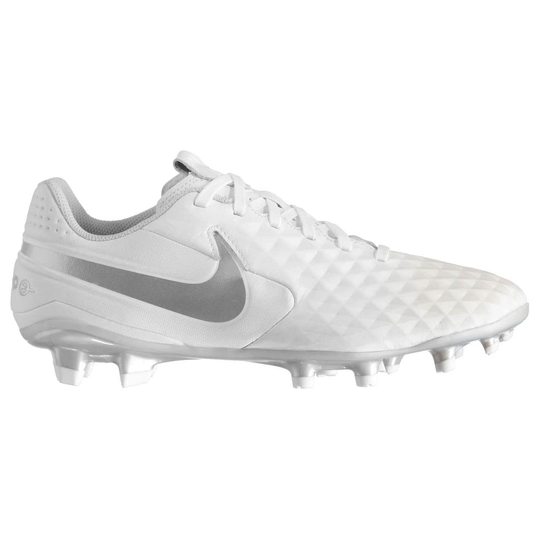Nike Tiempo Legend Academy FG Football Boots Mens White/Silver
