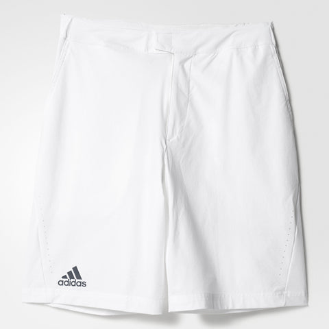 adidas Barricade Tennis Bermuda Shorts Mens White