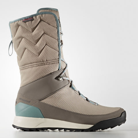 adidas ClimaWarm Choleah Climaproof High Boots Womens Grey/Green