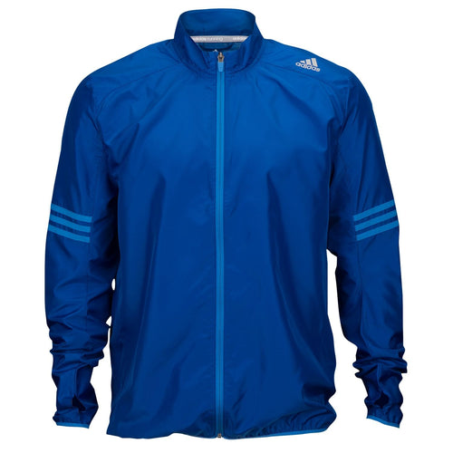 adidas Response Wind Running Jacket Mens Blue
