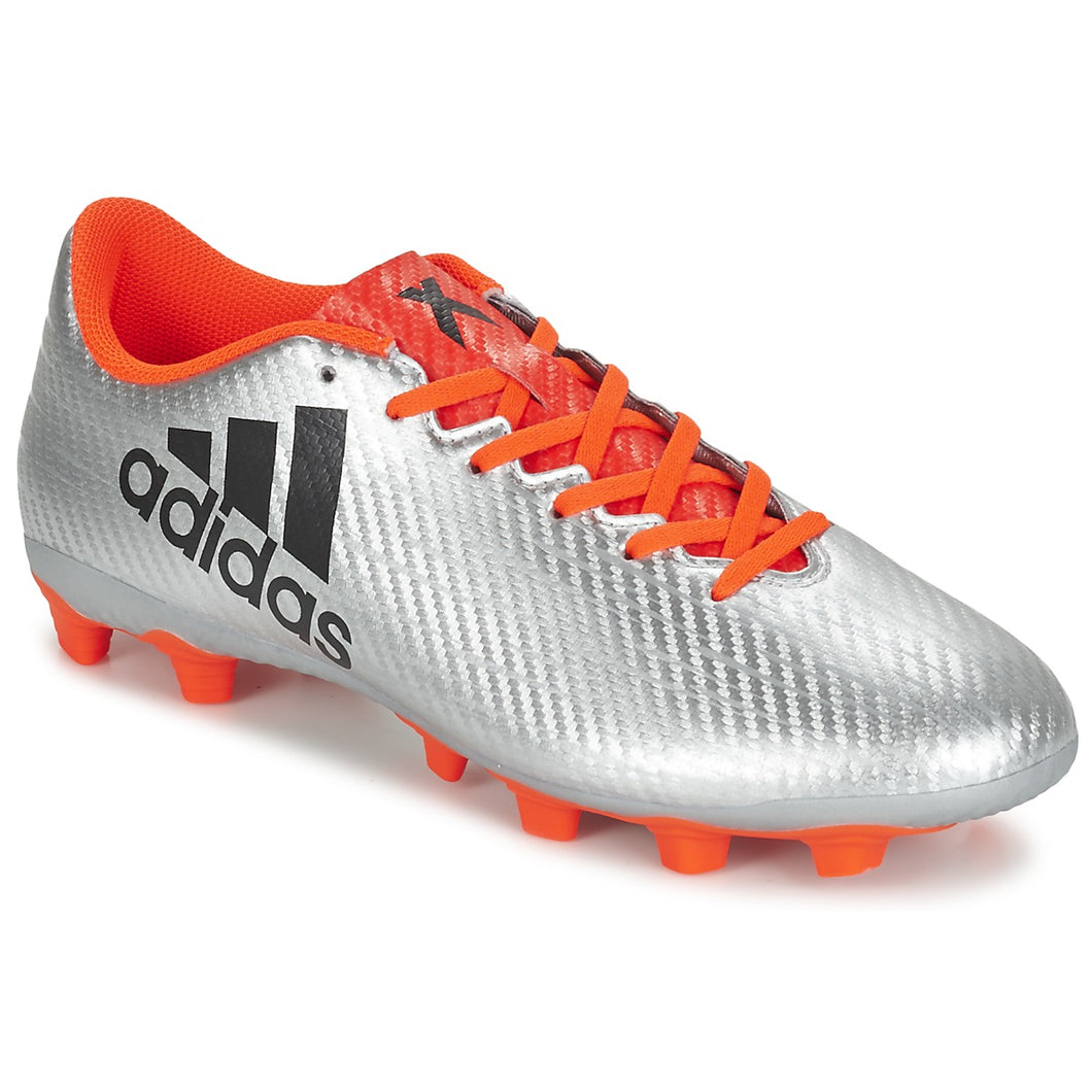 adidas X 16.4 FxG Football Boots Firm Ground Mens Silver/Red