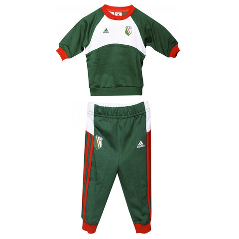 adidas Legia Warsaw Tracksuit Set Infants Green/White