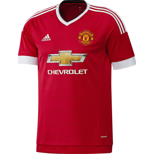 adidas Manchester United Mens Home Jersey 2015 2016