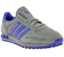 addias Originals LA Trainer Retro Trainers Mens Grey/Blue