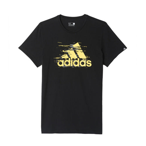 adidas Essentials Logo T-Shirt Mens Black