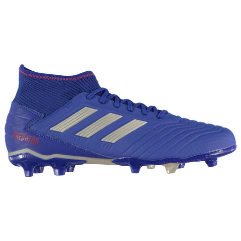 adidas Predator 19.3 Firm Ground FG Football Boots Mens Blue