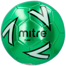 Mitre Flare Football Green/Blue