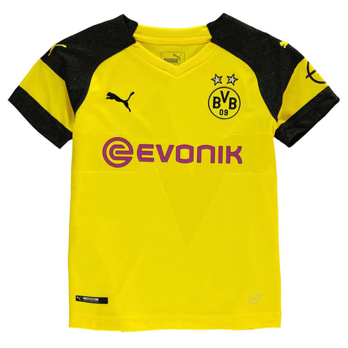 Puma Borussia Dortmund Home Jersey 2018 2019 Juniors Yellow