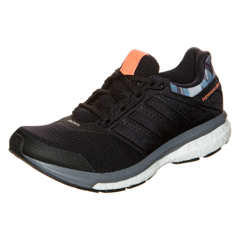addias Supernova Glide 8 GFX Boost Running Shoes Womens Black