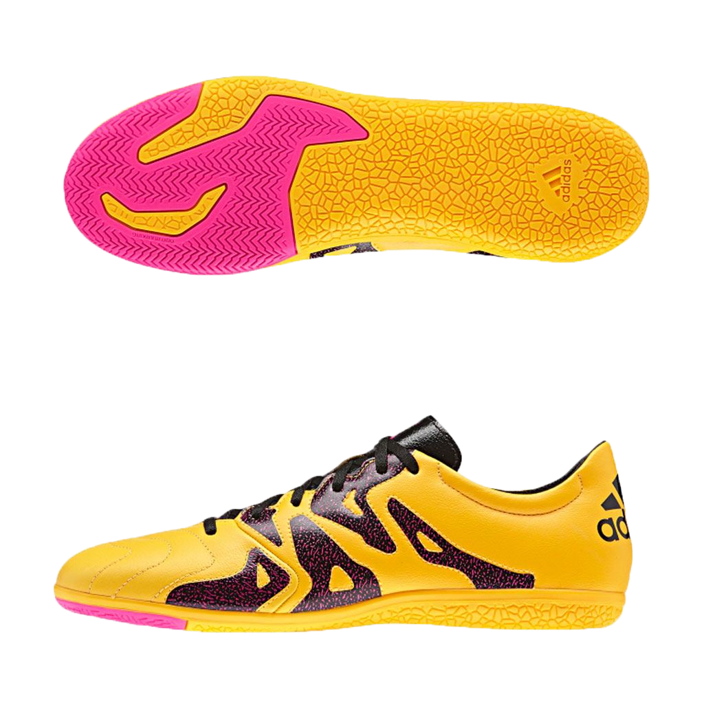 adidas X 15.3 Leather Indoor Football Futsal Trainers Mens