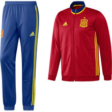 adidas Spain FEF PES Tracksuit Juniors Red/Blue
