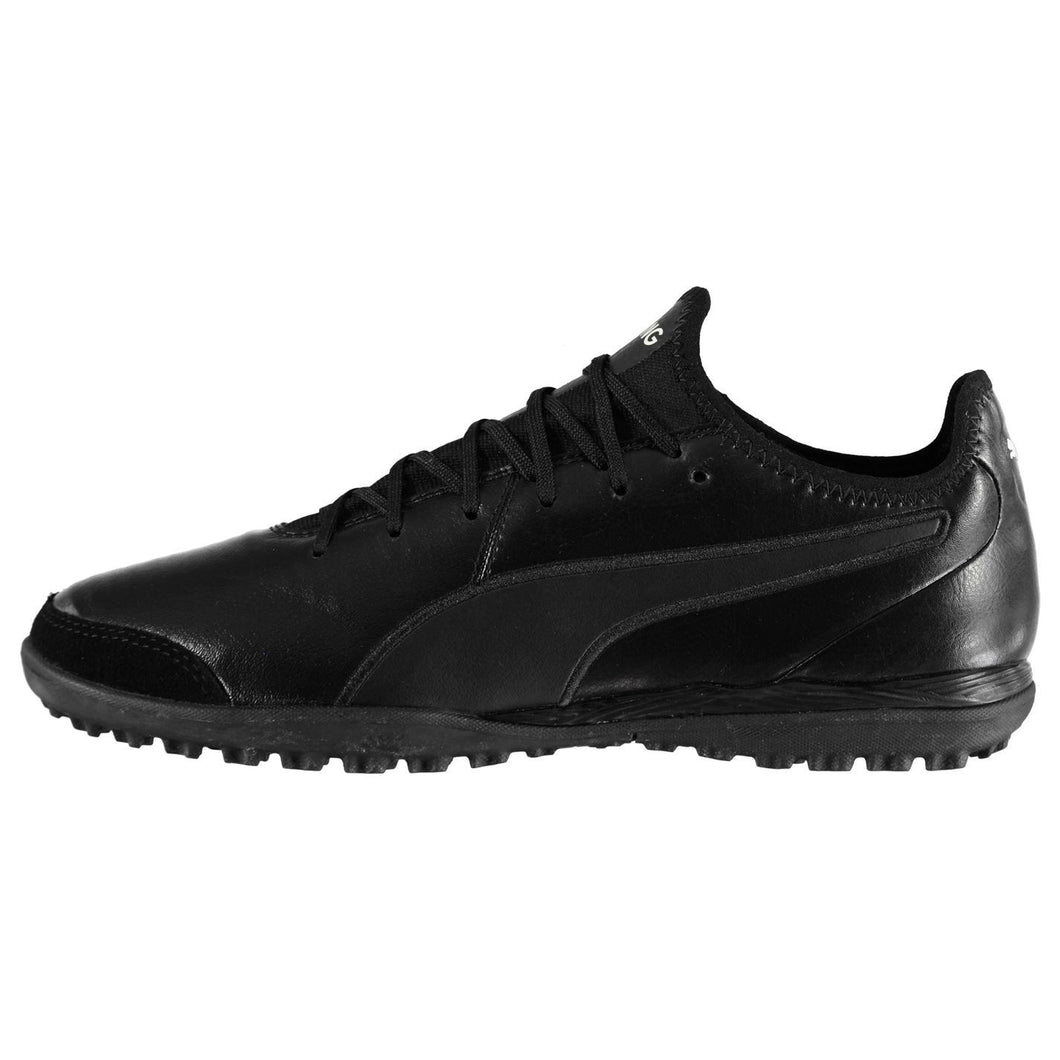 Puma King Pro Astro Turf Football Shoes Mens Black