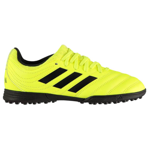 adidas Copa 19.3 Astro Turf Football Boots Junior Boys Yellow/Black